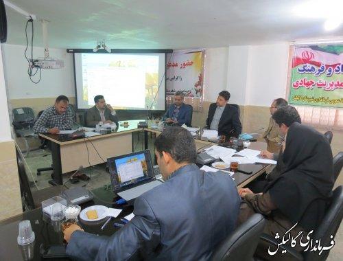 جلسه شورای فرعی سلامت شهرستان گالیکش برگزار شد.
