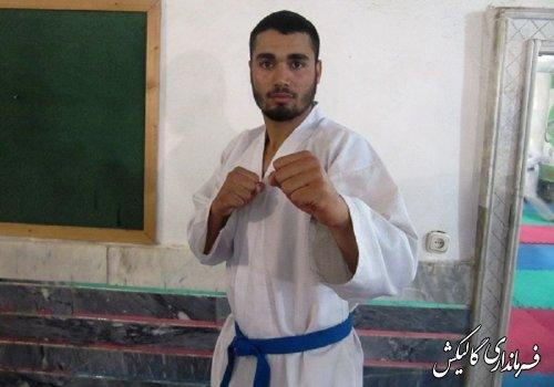 کسب مدال طلای لیگ جهانی کاراته توسط کاراته کای گالیکشی