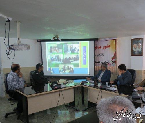 برگزاری اردوهای جهادی طرح هجرت با حضور بیش از 90 نفر از دانشجویان در روستاهای گالیکش