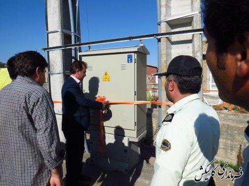 13 پروژه متمرکز توزیع نیروی برق گالیکش ، به صورت نمادین افتتاح شد