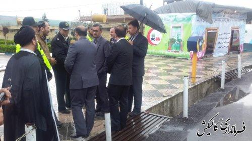 بازدید فرماندار از کمپ های نوروزی انتظامی شهرستان