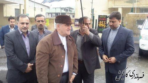 بازدید استاندار از کمپ های نوروزی شهرستان گالیکش