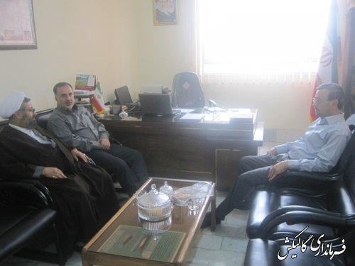 دیدار بخشداران مرکزی و لوه با رئیس سازمان تبلیغات اسلامی شهرستان