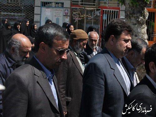 راهپیمایی مردم شهیدپرور گالیکش در حمایت از ملت ستم دیده یمن