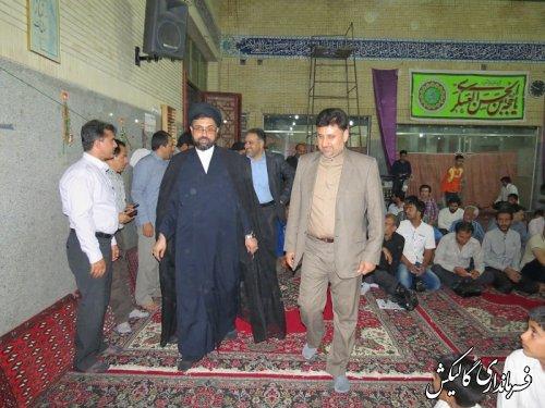 برگزاری مراسم باشکوه میلاد حضرت قائم (عج) در شهرستان گالیکش