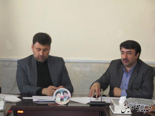 جلسه فرماندار با مدیرکل میراث فرهنگی