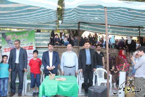 سومین جشنواره تابستانه شهرستان گالیکش تحت عنوان «جشنواره آلو-آمرود»