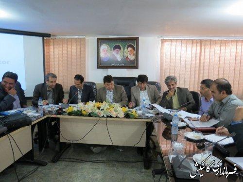 تشکیل جلسه شورای برنامه ریزی درشهرستان گالیکش برگزار شد.