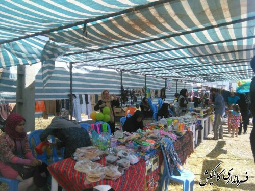 چهارمین جشنواره تابستانه شهرستان گالیکش در روستای آق قمیش بخش لوه برگزار شد.