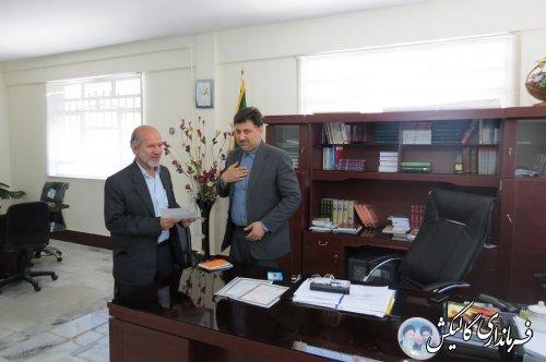 تجلیل فرماندار گالیکش از خبرنگاران شهرستان