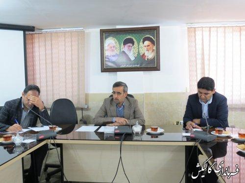 جلسه فوقالعاده ستاد تنظیم بازار شهرستان گالیکش برگزار شد