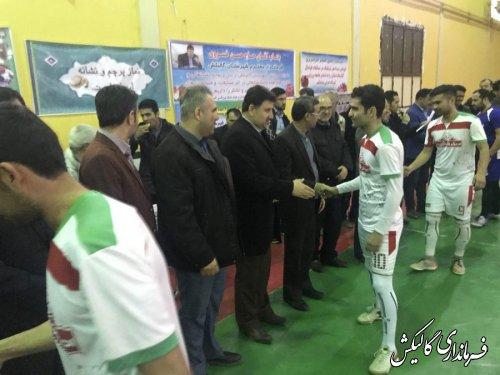 مراسم اختتاميه مسابقات ورزشی دهه مبارک فجر شهرستان گالیکش برگزار شد