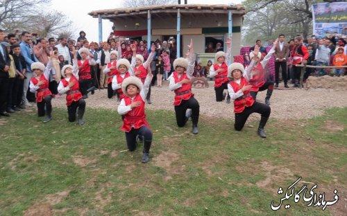 جشنواره فرهنگ و اقتصاد روستا در دهکده گردشگری بشاویلی شهرستان گالیکش برگزار شد