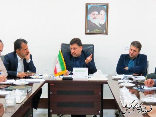 جلسه هماهنگی بزرگداشت روز جمهوری اسلامی در شهرستان گالیکش برگزار شد