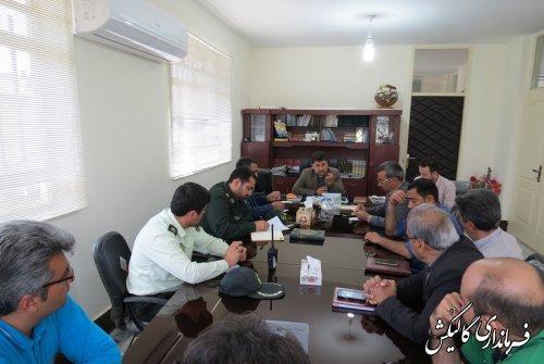 جلسه پیگیری مشکلات رانندگان حمل بار شهرستان گالیکش برگزار شد