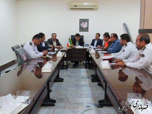 جلسه شورای ترافیک شهرستان گالیکش برگزار شد