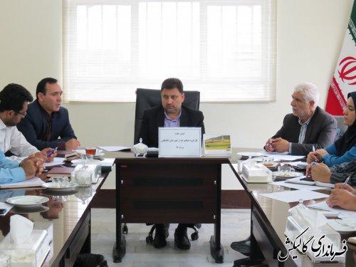 اولین جلسه کارگروه تنظیم بازار شهرستان گالیکش برگزار شد