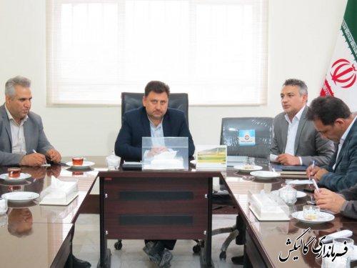 جلسه بررسی و ارتقاء سطح کیفی و کمی دانشگاه آزاد اسلامی واحد گالیکش برگزار شد