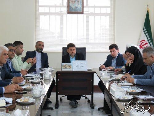 پنجمین جلسه شورای هماهنگی مبارزه با مواد مخدر شهرستان گالیکش تشکیل شد