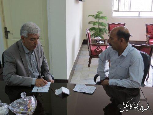 ملاقات عمومی فرماندار شهرستان گالیکش با مردم برگزار شد