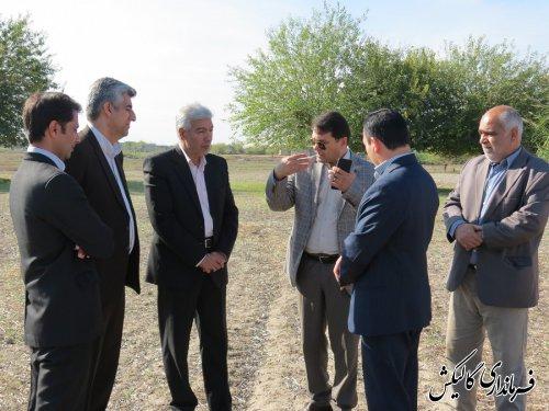 بازدید از روستای ینقاق بمنظور بررسی زیرساخت های توسعه و اشتغال روستایی