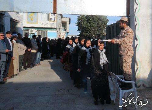 اعزام کاوران راهیان نور دانش آموزی شهرستان گالیکش
