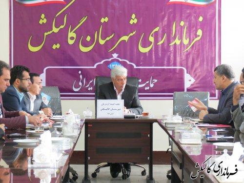 فرماندار گالیکش بر تأمین آرد مرغوب و باکیفیت خبازیهای مناطق روستایی تأکید کرد