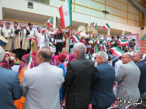 شهرستان گالیکش فعالیت خود را در جشنواره بین المللی فرهنگ اقوام آغاز کرد