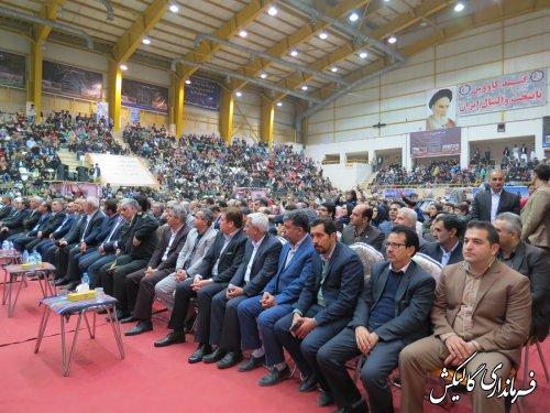 آیین اختتامیه دوازدهمین جشنواره بین المللی فرهنگ اقوام گلستان برگزار شد