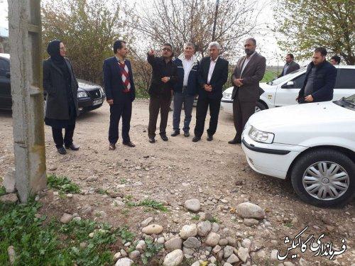 فرماندار گالیکش از مراحل آزادسازی خیابان جدید در این شهر بازدید کرد