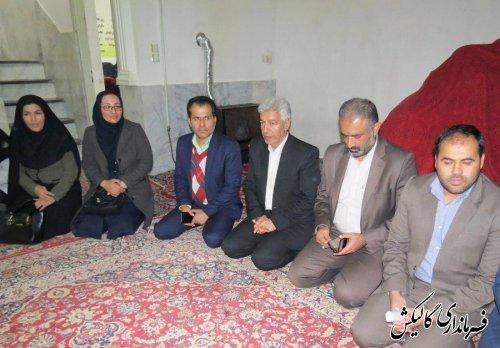 اعضای شورای هماهنگی مبارزه با مواد مخدر شهرستان از کمپ ترک اعتیاد «نفس های پاک نیلکوه» بازدید کردند