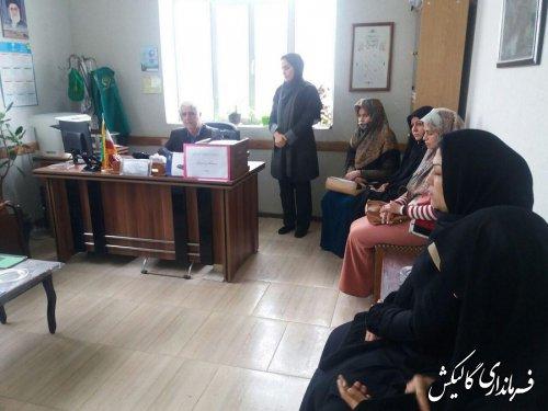 جلسه صندوق خرد زنان روستایی شهرستان گالیکش با حضور اعضای هیئت مدیره برگزار شد