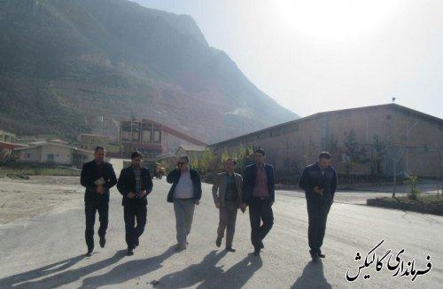 بازدید اعضای کمیته ستاد کارگری دهه فجر گالیکش از کارخانه سیمان پیوند گلستان
