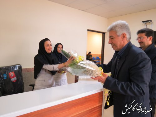 فرماندار گالیکش با جمعی از پرستاران شهرستان دیدار کرد