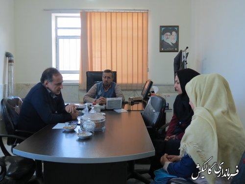 ملاقات عمومی با شهروندان در فرمانداری گالیکش برگزار شد