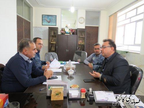 جلسه هیئت تطبیق مصوبات شوراهای اسلامی در فرمانداری گالیکش برگزار شد