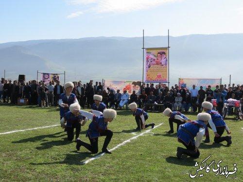 همایش پیادهروی خانوادگی و بازیهای محلی در آققمیش شهرستان گالیکش برگزار شد