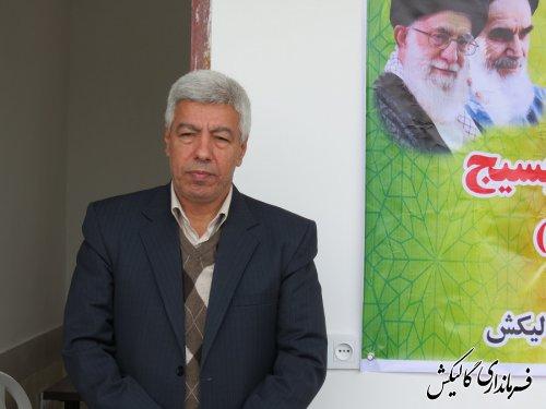 حوزه مقاومت بسیج در ینقاق شهرستان گالیکش افتتاح شد