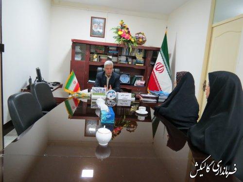 جلسه ملاقات مردمی فرماندار شهرستان گالیکش با شهروندان برگزار شد