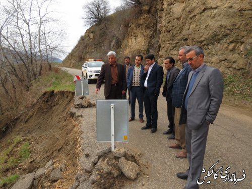 بهسازی محور کوهستانی دهستان نیلکوه تسریع خواهد یافت