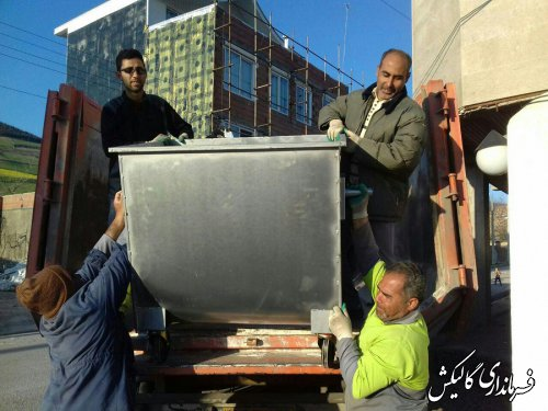 جمعآوری زباله در شهر صادقآباد شهرستان گالیکش مکانیزه میشود