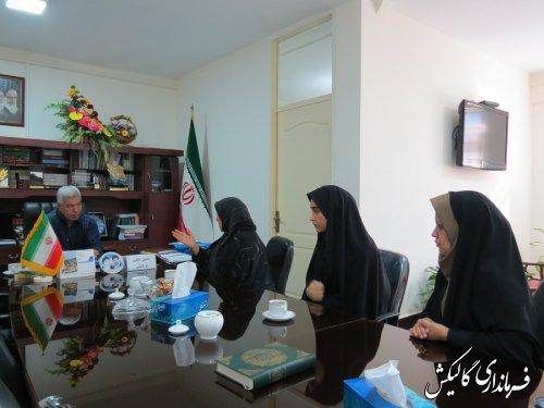 ملاقات عمومی فرماندار گالیکش با مردم برگزار شد