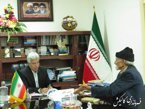 ملاقات مردمی فرماندار گالیکش برگزار شد