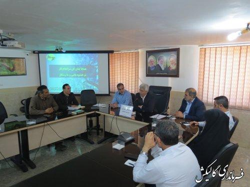 نخستین جلسه ستاد اصلاح الگوی مصرف برق شهرستان گالیکش برگزار شد