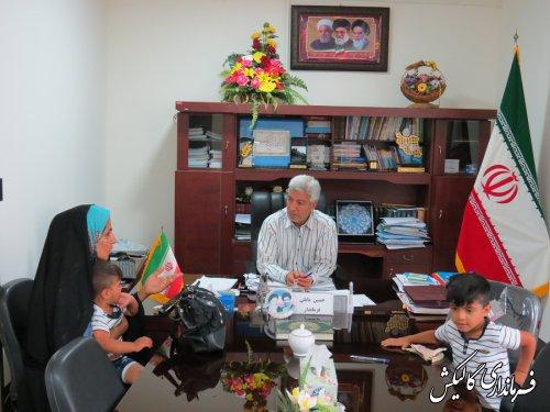 جلسه ملاقات مردمی فرماندار گالیکش با شهروندان برگزار شد
