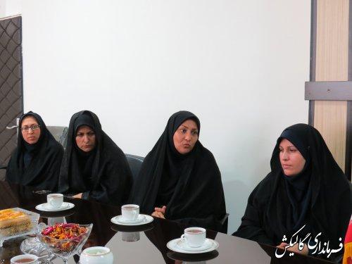 دیدار رئیس و کارکنان مرکز آموزش فنیوحرفهای گالیکش با فرماندار شهرستان