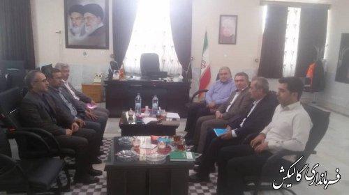 نشست انتخاباتی فرمانداران شرق استان گلستان برگزار شد