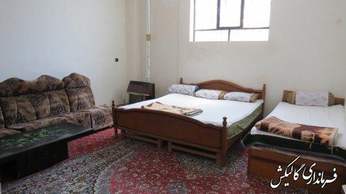 افتتاح دو واحد خانه مسافر در شهرستان گالیکش بمناسبت گرامیداشت هفته دولت
