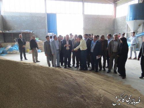 افتتاح واحد تولید خوراک دام، طیور و آبزیان در شهرستان گالیکش