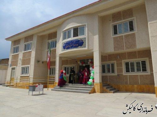 افتتاح مدرسه 6کلاسه دکترحسابی در شهرستان گالیکش